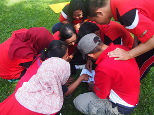 Bali Team Building Clue-solving