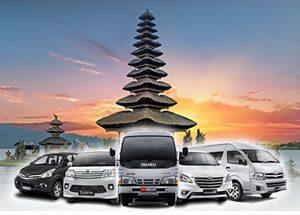 Rent Car di Paket Tour Bali