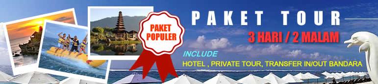Baner Paket Tour Populer 3D 2N