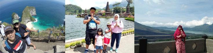 Testimonial kesan dan Pesan liburan di Bali dengan My Bali Tour keluarga mybali