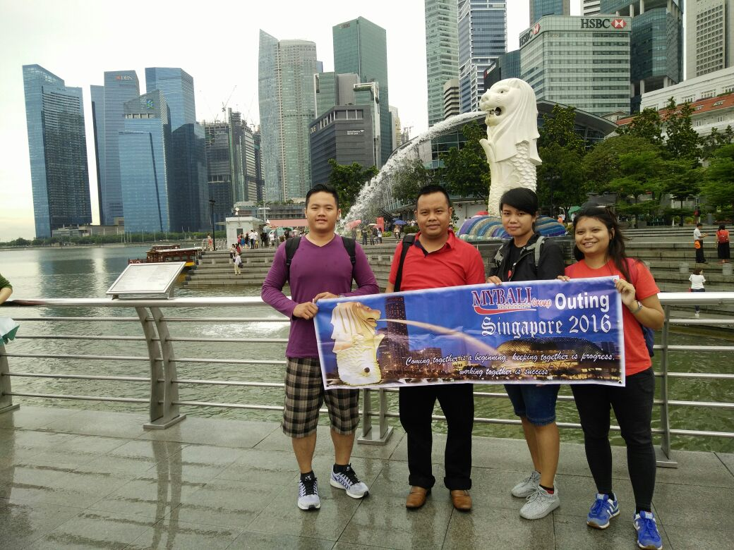 MyBali Group Goes to Singapore 2016